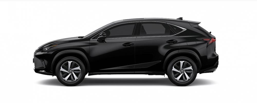 Ngoại thất Lexus NX màu đen