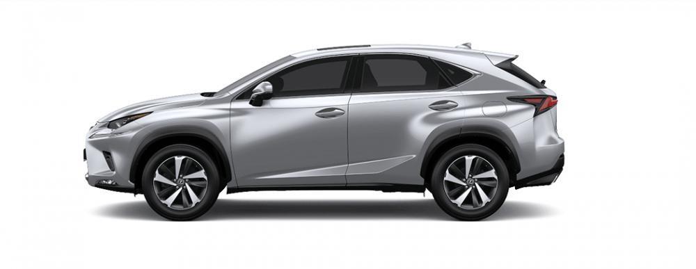 Ngoại thất Lexus NX màu bạc