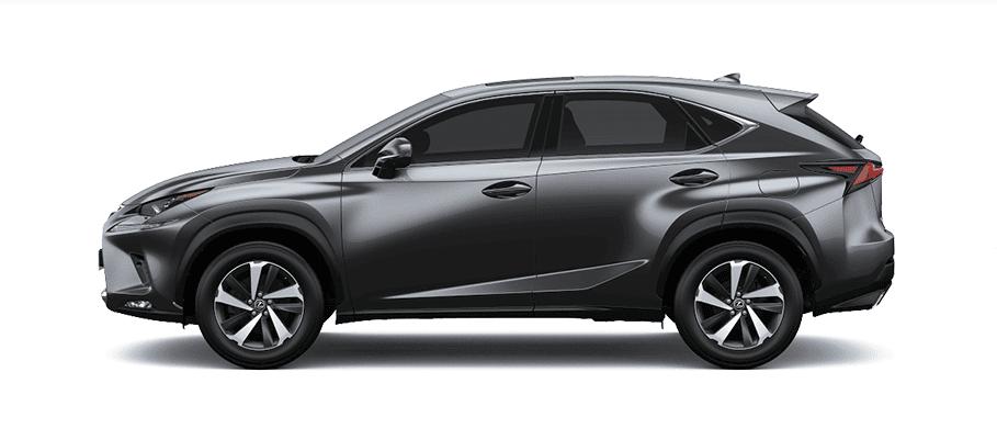 Ngoại thất Lexus NX màu xám