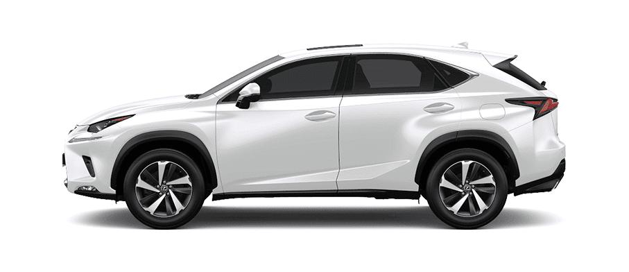 Ngoại thất Lexus NX màu trắng