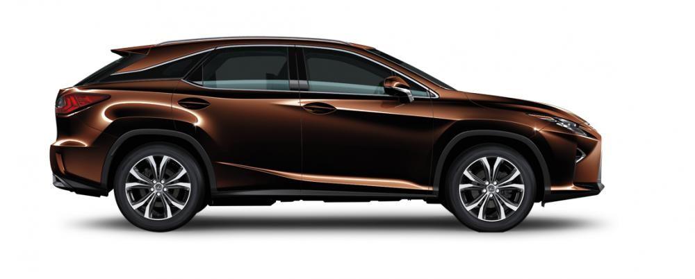 Ngoại thất Lexus RX màu nâu