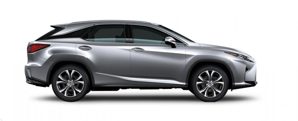 Ngoại thất Lexus RX màu bạc