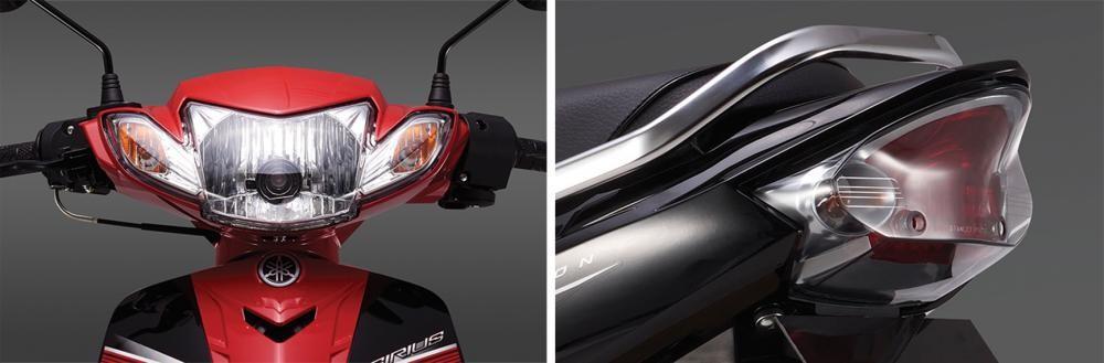 Cụm đèn pha và đèn hậu của Yamaha Siriu