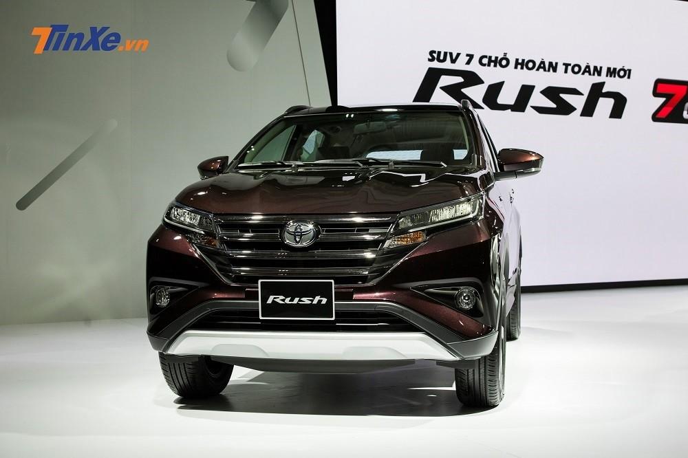 Cập nhật giá xe Toyota Rush mới nhất hôm nay