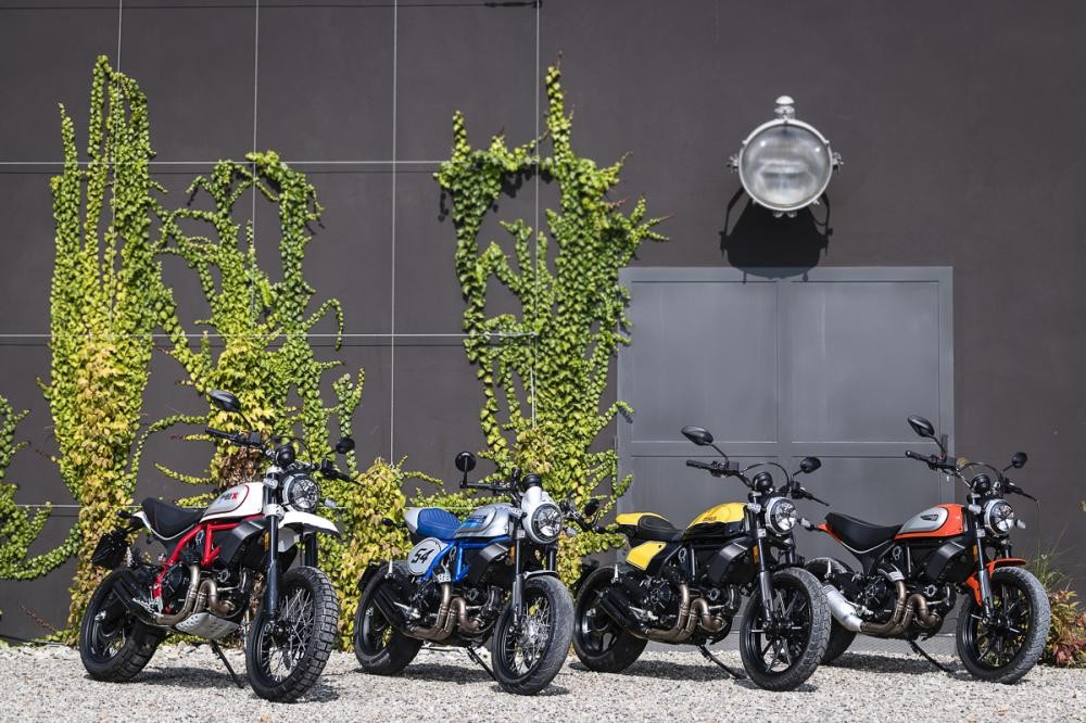 The lost car is worth hundreds of millions of Ducati Scrambler cars from Italy