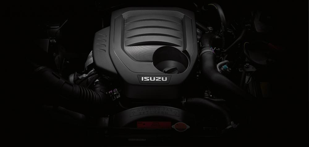 Động cơ xe Isuzu Mu-X 2021