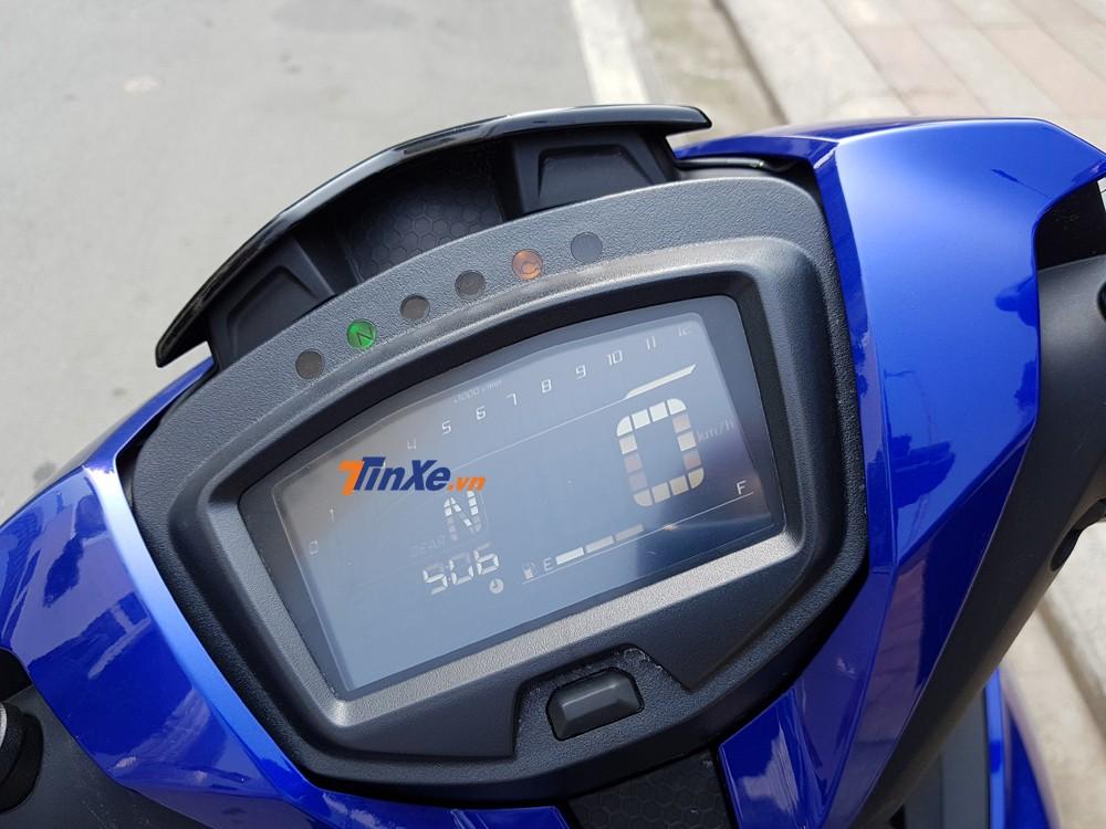 Bảng đồng hồ đã chuyển thành sang dạng LCD toàn phần
