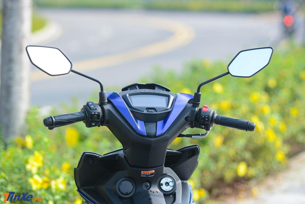 Cùm công tắc 2 bên và bảng đồng hồ của Yamaha Exciter 150 2019 đã có sự thay đổi so với các thế hệ trước