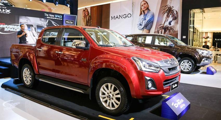 Trong bảng giá xe Isuzu 2019 mới nhất tại Việt Nam, mẫu xe D-Max có giá khởi điểm từ 650 triệu Đồng