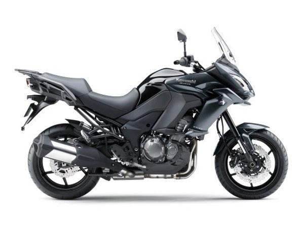 Kawasaki Versys 1000 có thiết kế adventure-touring