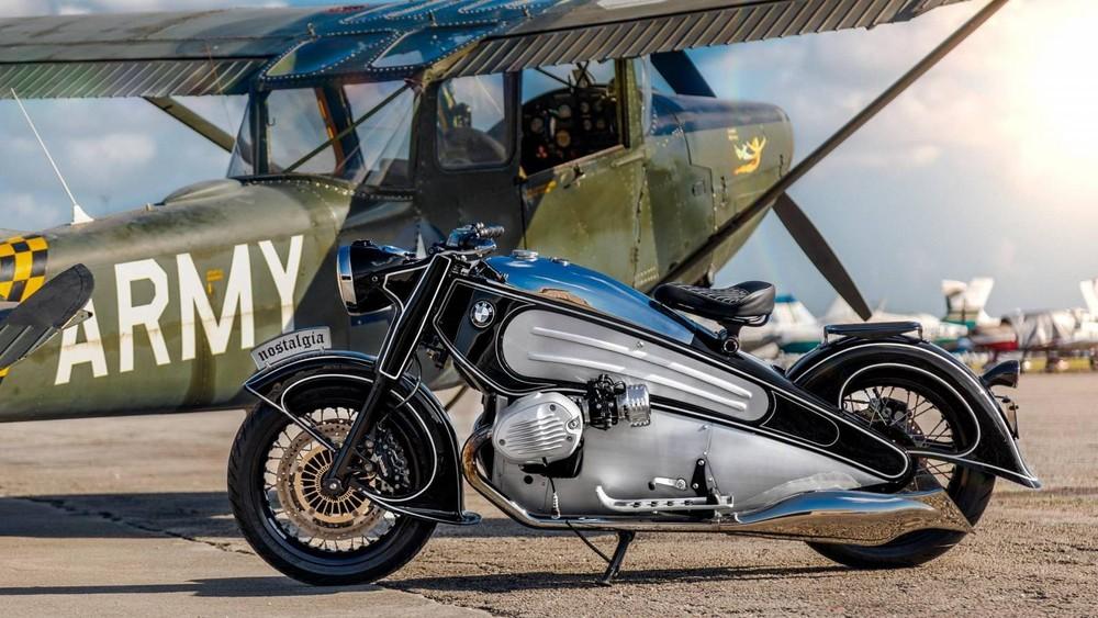Ngoại hình của xe lấy cảm hứng từ chiếc BMW R7 1934