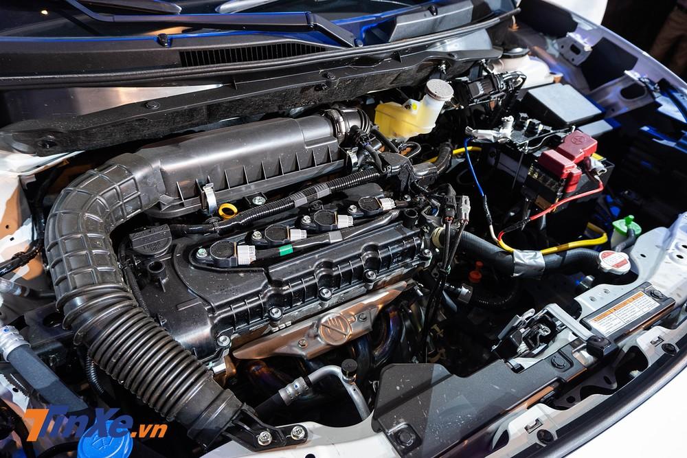 Cả 2 phiên bản của xe đều sử dụng chung động cơ Dualjet 4 xi-lanh, dung tích 1,2 lít