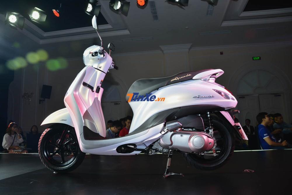 Yamaha Grande phiên bản mới có cả ABS và khóa thông minh