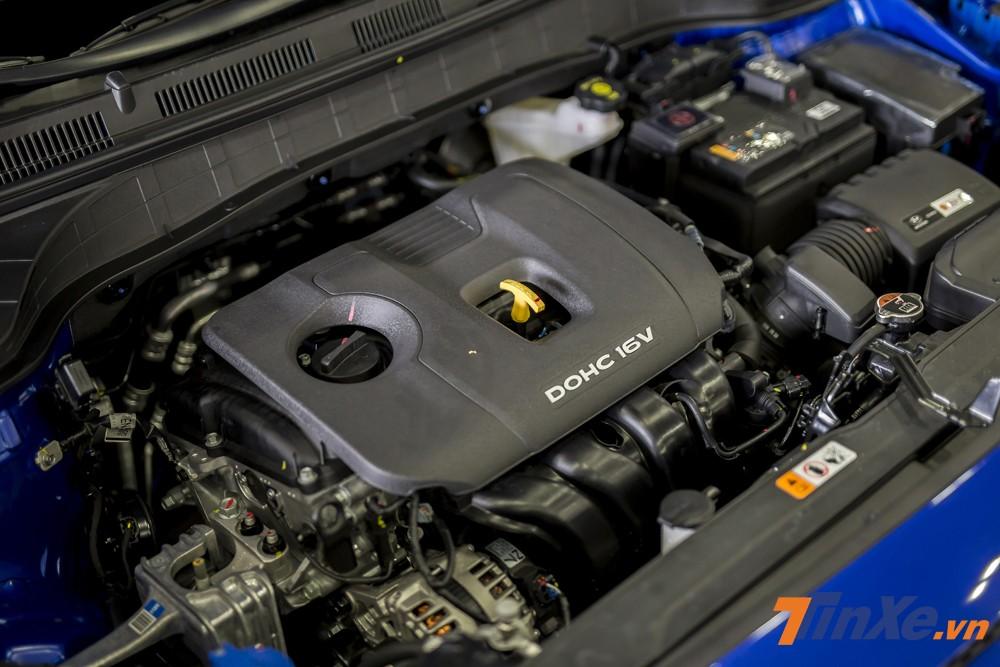 Động cơ DOHC dung tích 2.0L trên Hyundai Kona 2.0AT đặc biệt gây ấn tượng bởi khả năng tiết kiệm nhiên liệu.