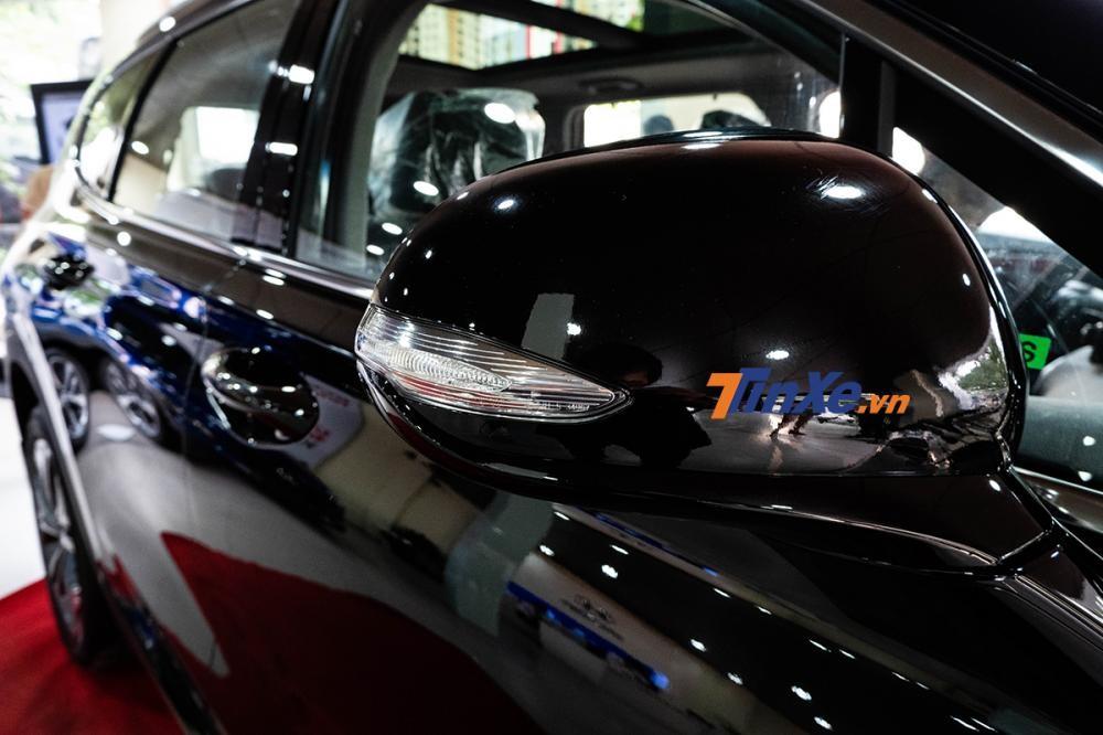 Gương gập chỉnh điện tích hợp xi-nhan báo rẽ