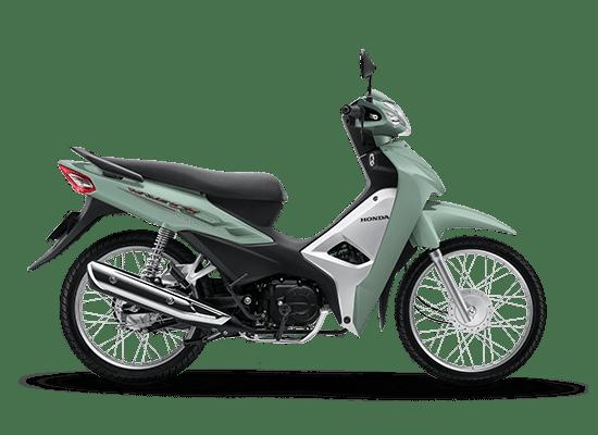 Honda Wave Alpha màu xanh ngọc