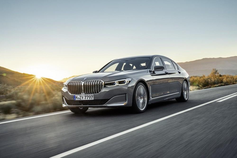 BMW 7-Series 2020 trông bề thế hơn trước