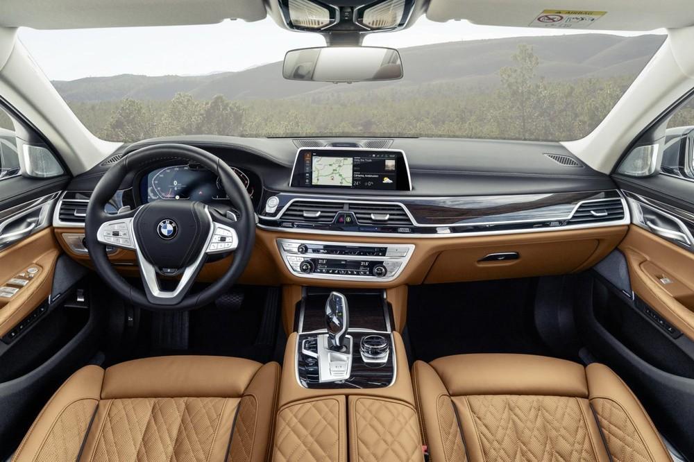 Nội thất sang trọng trong BMW 7-Series 2020