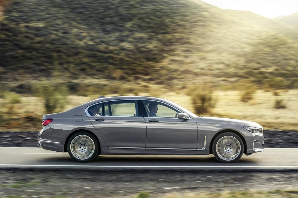 BMW 7-Series 2020 tăng chiều dài trong khi chiều rộng và chiều cao giữ nguyên