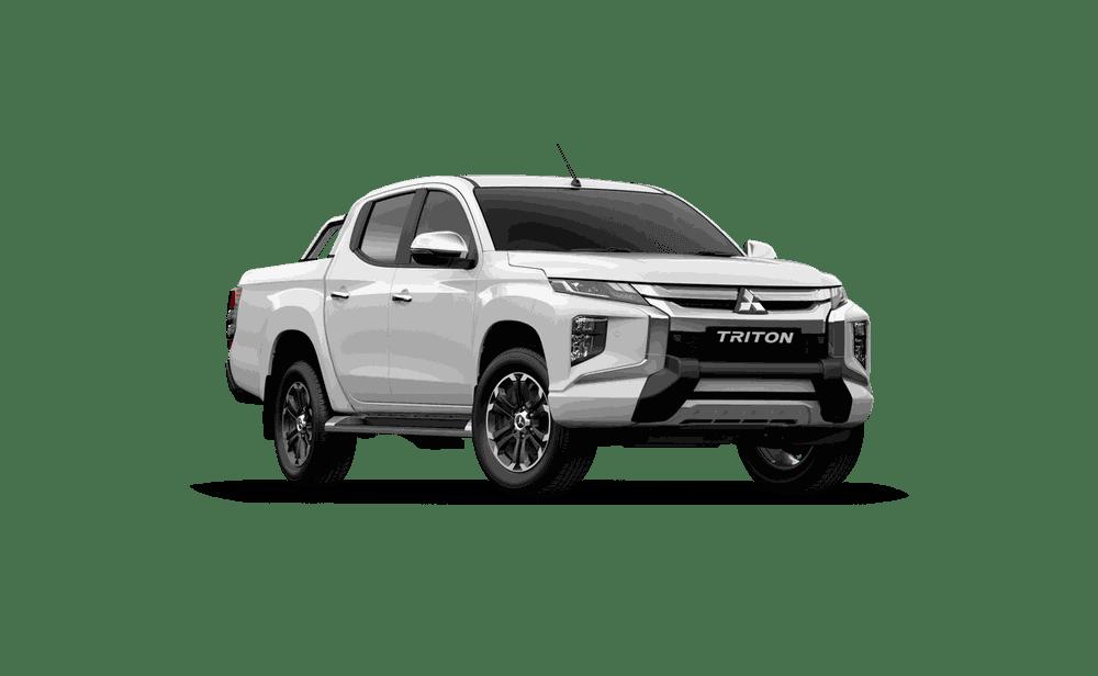 Mitsubishi Triton 2019 màu trắng