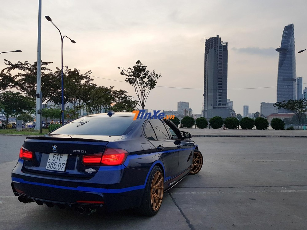 Đánh giá xe BMW 330i B48 độ