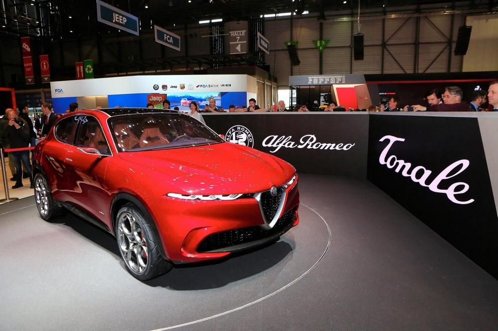 Alfa Romeo Tonale là dạng xe ý tưởng thuộc phân khúc crossover cao cấp cỡ nhỏ