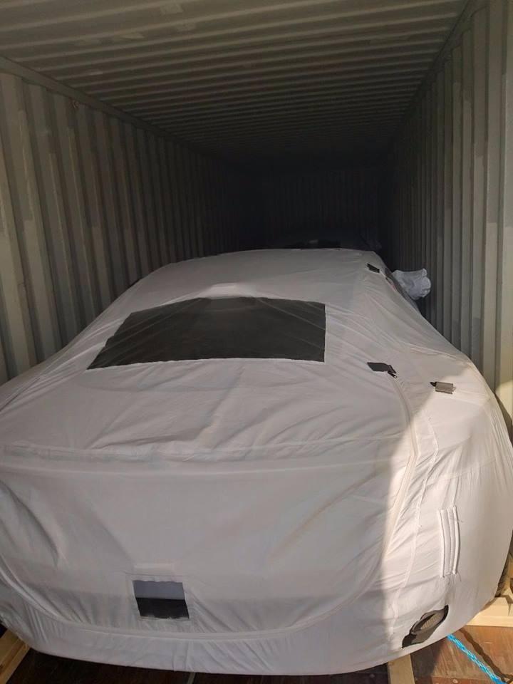 Bức ảnh doanh nhân Vũng Tàu chia sẻ về siêu xe Aston Martin DB11 vào tháng 2