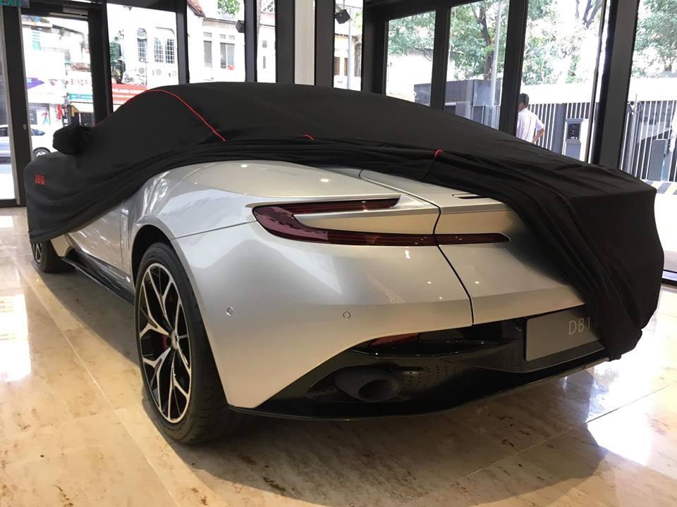 Việc tậu siêu xe Aston Martin DB11 V8 đã giúp doanh nhân Vũng Tàu sở hữu đến 3 chiếc siêu xe và đến từ các thương hiệu khác nhau