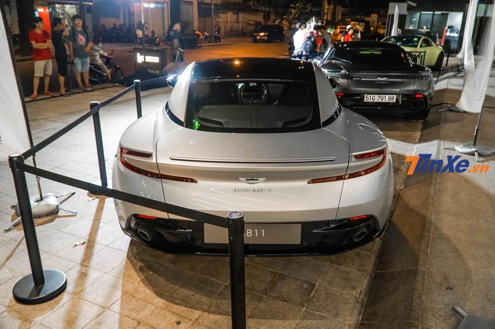 Siêu xe Aston Martin DB11 V8 của doanh nhân Vũng Tàu chưa được đăng ký biển số