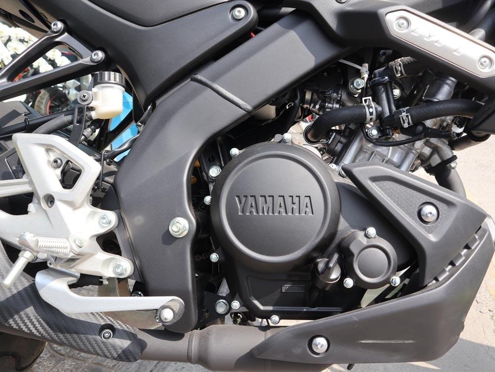 Động cơ xylanh đơn 155cc của Yamaha MT-15