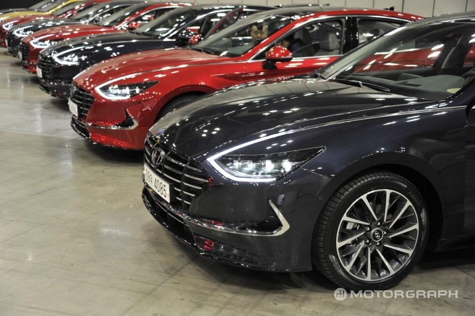 Các màu sơn ngoại thất khác của Hyundai Sonata 2020
