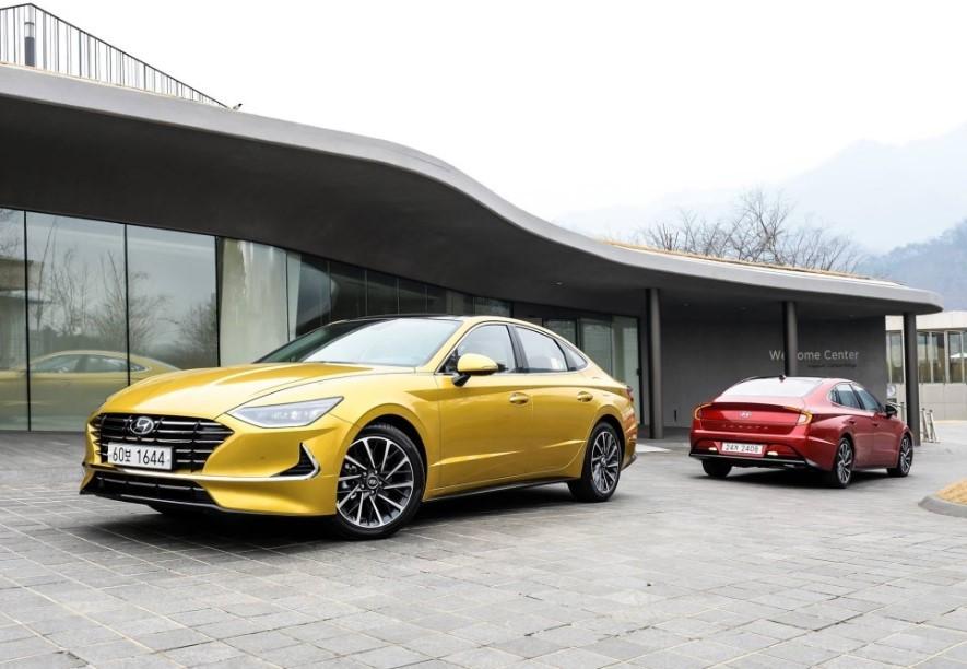 Hyundai Sonata 2020 ra mắt tại thị trường Hàn Quốc