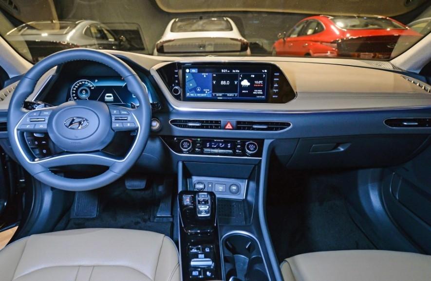 Nội thất bên trong Hyundai Sonata 2020
