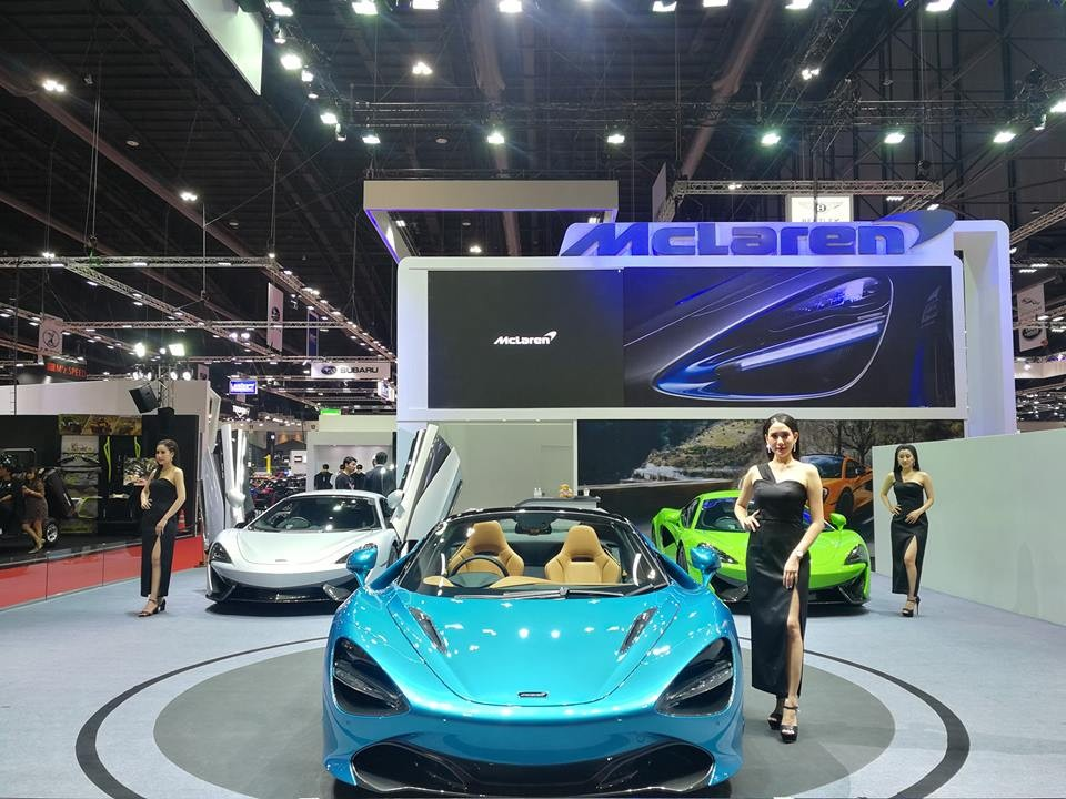 Hy vọng thời gian gần nhất, đại gia Việt sẽ đem McLaren 720S Spider về nước