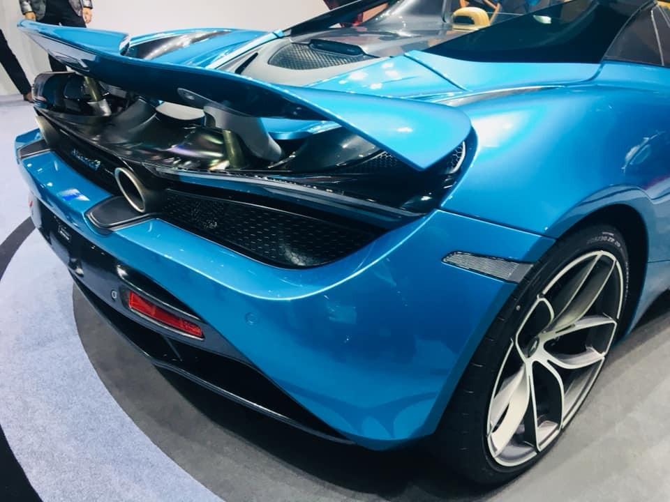 Siêu xe mui trần McLaren 720S Spider vẫn nằm trong dự án McLaren Super Series của hãng xe Anh quốc