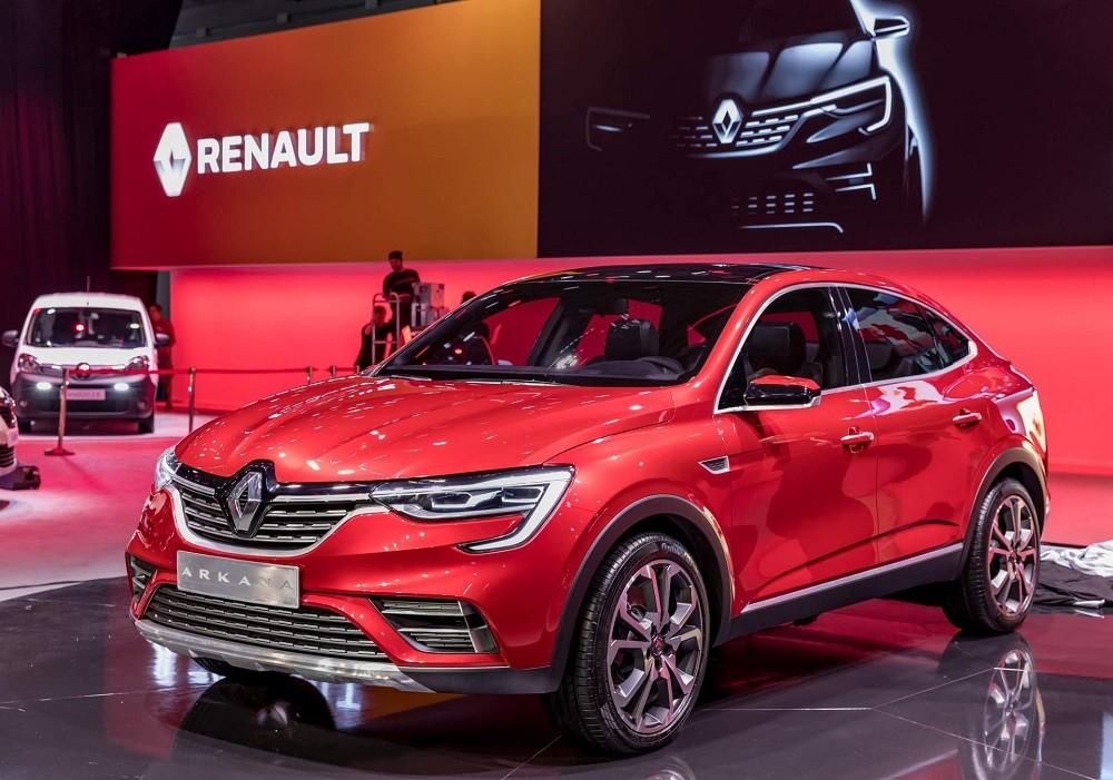 Renault Arkana ra mắt trong triển lãm Ô tô Moscow 2018