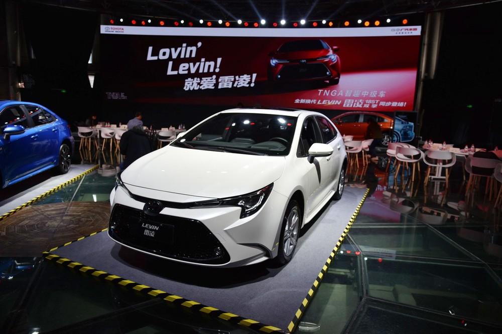 Toyota Levin 2019 máy xăng ra mắt trong triển lãm Ô tô Thượng Hải 2019