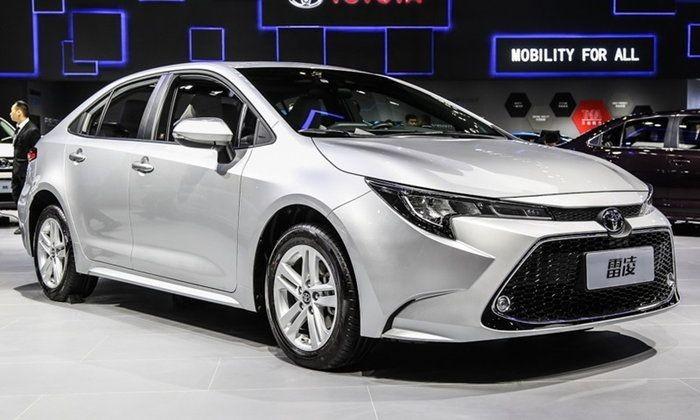Điểm nhấn của Toyota Levin 2019 máy xăng là khối động cơ tăng áp dưới nắp capô