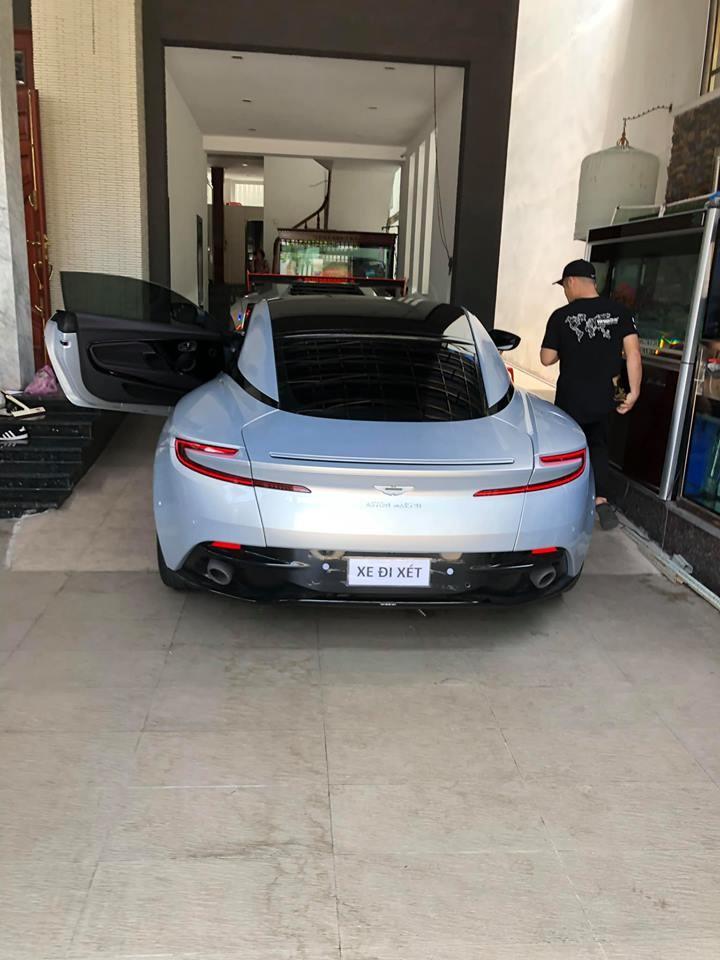 Aston Martin DB11 V8 hiện là siêu xe thứ 3 có mặt trong garage của doanh nhân Vũng Tàu
