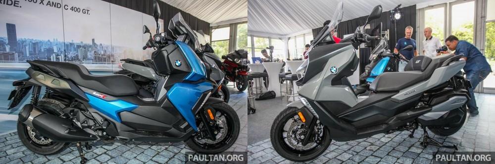 BMW C400X lấy cảm hứng từ dòng GS trong khi C400GT lấy cảm hứng từ dòng RT