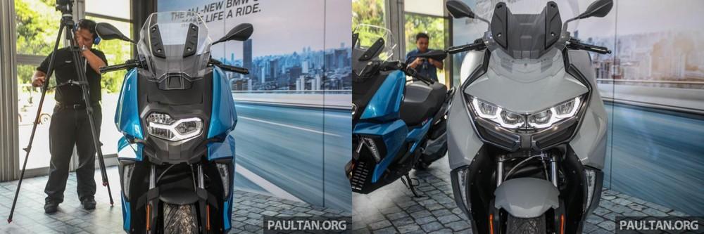Hệ thống chiếu sáng trên BMW C400X và BMW C400GT