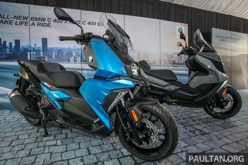 BMW C400X và C400GT vừa ra mắt tại Malaysia
