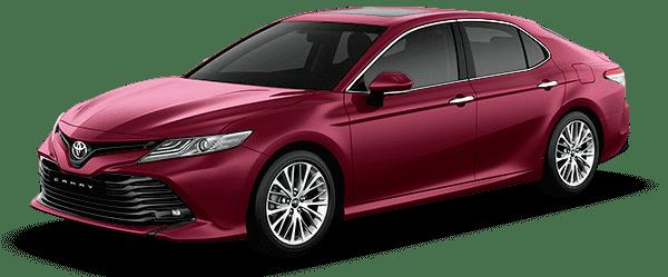 Toyota Camry 2019 màu đỏ