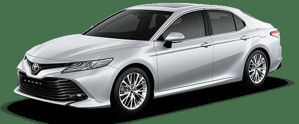 Toyota Camry 2019 màu bạc