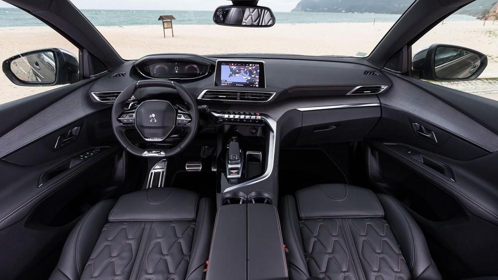 Nội thất của Peugeot 5008