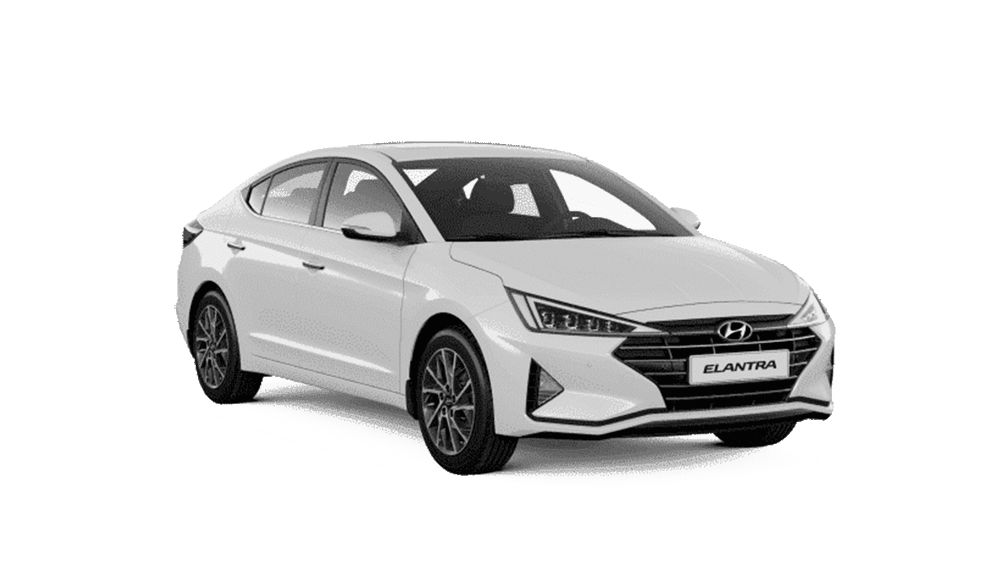 Hyundai Elantra 2019 màu trắng