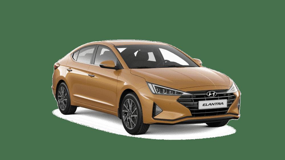 Hyundai Elantra 2019 màu vàng cát