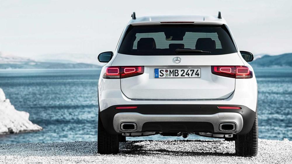 Mercedes-Benz GLB 2020 nhìn từ phía sau