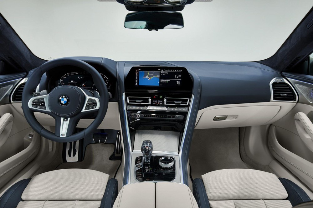 Nội thất sang trọng của BMW 8-Series Gran Coupe 2020