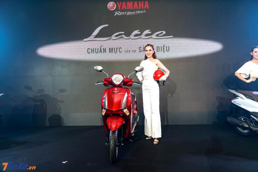 Yamaha Latte 125 hướng đến khách hàng nữ với thiết kế nữ tính, mềm mại cùng nhiều tiện ích
